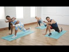 20 MIN HIIT FULL BODY: Short on time and space? This workout from Brett Hoebel proves you don't need equipment to torch calories and work up a sweat. 20 Min Workout, Workout Log, Toning Workouts, Workout Videos, At Home Workouts, Workout Trainer, Victoria Secret Workout, Sweat It Out, Sport Fitness