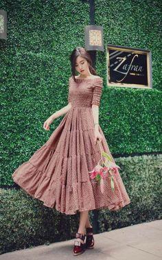 daily 2016 feminine look fashion in you in 2019 fashion, tre Korean Fashion Trends, Asian Fashion, Look Fashion, Fashion Design, Fashion Ideas, Feminine Fashion, Trendy Fashion, Trendy Dresses, Elegant Dresses