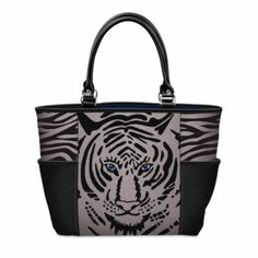 Eye Of The Tigress Tote Bag -  	     	              	View Sale Price   Smart shoppers realize the unparalleled value in handcrafted collectibles and fine jewelry designs. Meticulous artistry, limited editions and exclusive offers are the hallmark of The Bradford Exchange Online.Strong demand is expected for this brand-new...