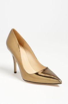 Kate Spade New York.... fun fun fun! Solid Gold heels, could work!  Oh yeah! !!