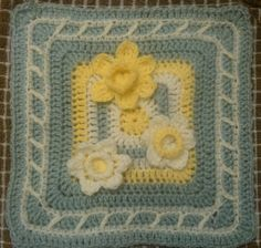 Daffodils ~ free pattern ᛡ
