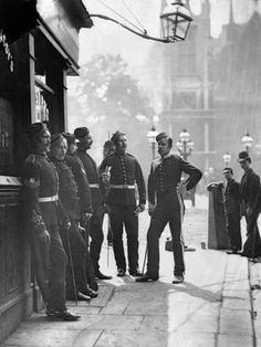 Vintage photographs of street life in Victorian London by Scottish photographer John Thomson. Victorian London, Vintage London, Old London, Victorian Street, Victorian Life, London Pubs, London History, British History, Old Pictures