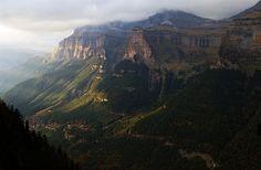 Ordesa Valley, Aragon, in the Spanish Pyrenees