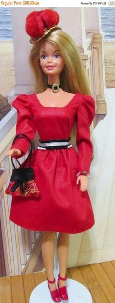 ON SALE Vintage Barbie Bendable Legs  Mattel 1976 by DressMeDoll