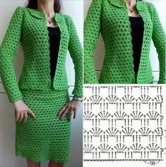 Una nueva idea de conectar el punto a una chaqueta o falda