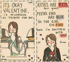 hunger games valentines! *