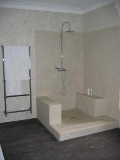 A limestone bathroom by Stephen Stout and David Bjorngaard inside ...