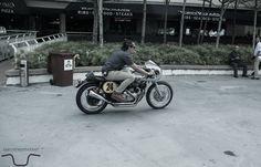 Greaser Alan Faizal #riding #motorcycles #motos | caferacerpasion.com