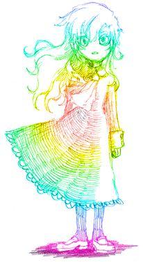 Ib's Mary by kouri / レインボーメアリー。