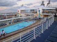 just one of the many pools on board!