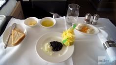 Kaviar Service (Zitrone, Zwiebeln, Ei und einem Beluga Vodka) - Check more at http://www.miles-around.de/trip-reports/first-class/lufthansa-boeing-747-400-first-class-frankfurt-nach-vancouver/,  #737-500 #747-400 #avgeek #Aviation #Boeing #BusinessClass #Champagner #FCT #FirstClass #FirstClassLounge #FirstClassTerminal #FRA #Frankfurt #Grönland #Leipzig #LEJ #Lounge #Lufthansa #LufthansaSenatorLounge #Reisebericht #Trip-Report #USA #YVR