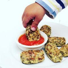 Una receta súper rápida de preparar! De pequeña no me gustaba nada la coliflor... Para hacer esta receta de nuggets de coliflor necesitas:
