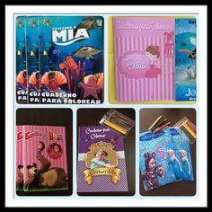Cuadernos para Colorear Personalizados