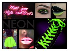"""Neon"" by jaca757 ❤ liked on Polyvore featuring beauty and Lime Crime"