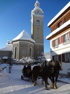 Bezau, Kirche Hl. Jodok (Bregenz) Vorarlberg AUT Kirchen, San Francisco Ferry, Building, Travel, Viajes, Buildings, Destinations, Traveling, Trips