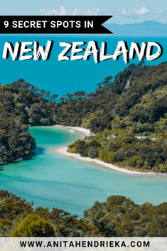 I have gathered the top 9 most stunning spots that are beautifully hidden amongst the nature in NewZealand – the land of the long white cloud – including the clearest lake in the world! Travel Guides, Travel Tips, Marlborough Sounds, Clear Lake, Destination Voyage, Beaches In The World, New Zealand Travel, Koh Tao, Culture Travel