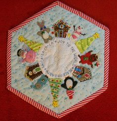 Christmas mug rug.