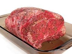 Slow roasting the ribeye allows the meat to remain juicy and imparts a smoky flavor.
