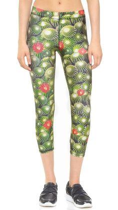 Zara Terez Cactus Performance Capri Leggings