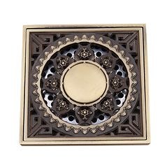 Deodorant Floor Drain Filter Strain Covers Chrome Plated Attractive And Durable Home Improvement Drains Brass Shower Room U Type Deep Water Floor Drains