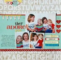 A Project by LisaDorsey from our Scrapbooking Gallery originally submitted 01/24/12 at 08:57 AM