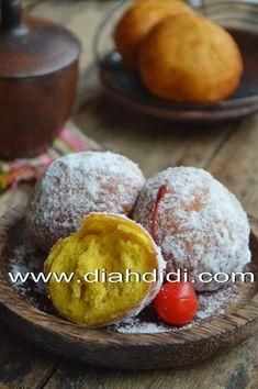 Diah Didi's Kitchen: Donat Labu Kuning