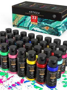 🎯 Don't Miss Your Chance to Purchase ⚡Pouring Acrylic Paint⚡ 🎯 - Christmas Nail Art Designs - Hybrid Elektronike Acrylic Painting For Beginners, Acrylic Painting Techniques, Acrylic Painting Canvas, Painting Hacks, Pour Painting, Stiletto Nail Art, Gel Nail Art, Pouring Acrylic Paint, Canvas Art Projects