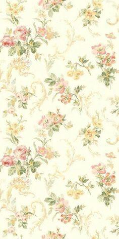 Vintage Flower Backgrounds, Vintage Flowers Wallpaper, Victorian Wallpaper, Background Vintage, Flower Wallpaper, Papel Vintage, Decoupage Vintage, Vintage Paper, Print Wallpaper