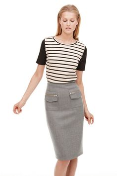 J.Crew Debuts Its September Catalog On Pinterest (But We've Got It Here, Too!) #refinery29 *beautiful skirt