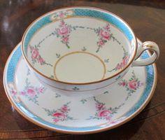 "Minton  ""Persian Rose Older "" B838 Coffee Tea Cup Saucer"