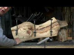 Handmade Iron on Log Decor by Mitchell Dillman - YouTube