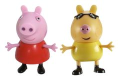 This Peppa Pig twin pack of figures includes both Peppa Pig and Pedro Pony. Figures are approx. 7cm tall. $12.99