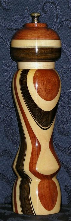 Lord Greystoke PepperMills - Design # 13 Buy Online - Unusual Wood pepper mill sets