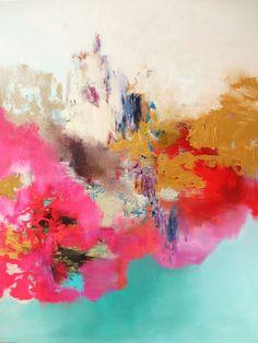 """Saatchi Art Artist: Leena Nousiainen; Acrylic 2014 Painting """"no title"""""""