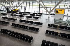 BAA London | Airline System Seating | Norman Foster