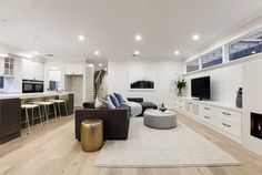 Stunning Sunday: Brand new weatherboard for sale in Essendon, Melbourne, VIC Melbourne House, Home Kitchens, Building A House, Sweet Home, New Homes, Sunday, Real Estate, House Design, Brand New