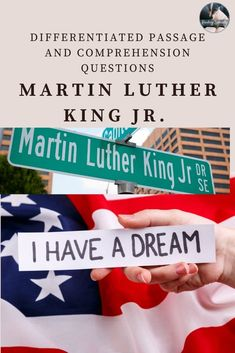 Read about civil rights leader Martin Luther King Jr. Use the questions in standardized test format to check comprehension and help students prepare for high-stakes testing. Each passage contains these types of questions: main idea vocabulary organizational patterns inference summarizing Middle School History, Middle School Grades, High School, High Stakes Testing, Standardized Test, Teaching American History, Civil Rights Leaders, Reading Comprehension Passages, Differentiated Instruction