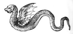 Þóra kept the worm in a box with a gold bottom, and as it grew, so grew the gold too. The worm grew into a serpent, and gradually became so big that it eventually encircled the entire house she lived in, biting its tail like the Midgardr serpent that coils around the earth.