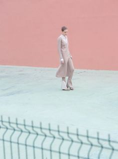 Rose Quartz and Serenity, Pantone Color for 2016 - Viviane Sassen