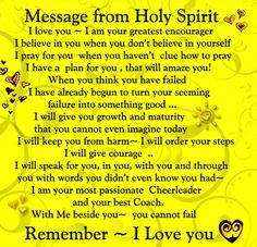 Grateful for the gift of the Holy Spirit!