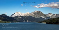 Campotosto lake  - Abruzzo... Italy by lucOne_phOto