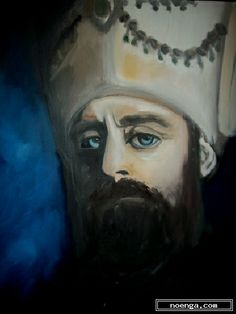noenga.com :(c) ceren ogel  (TURKEY) :: Suleiman the Magnificent ::  :  :  :  : This  portrait is Suleiman the Magnificent, the longest reigning Sultan of the Ottoman Empire .It is taken from The Magnificent Century which is a prime time historical Turkish television series .