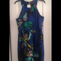 Blue floral dress Blue floral dress. Size 11 Teeze Me Dresses