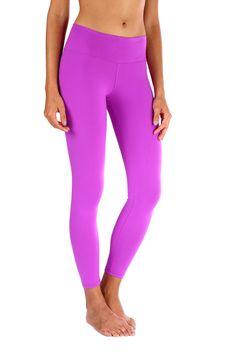 Workout Attire, Workout Pants, Crimped Hair, Basic Leggings, Purple Leggings, Day Use, Yoga Pants, Pajama Pants, Shirts