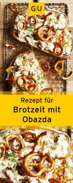 Perfekt für's Picknick! Leckeres Rezept für eine selbst gemachte Brotzeit mit Obazda.⎜GU