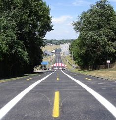 The All-American Soapbox Derby race track in Akron, Ohio