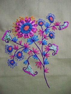 57208068 - Photo de La fleur Imaginaire - Je Brode on Line Facile!!