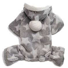 Adarl Winter Warm Pet Jumpsuit Coat Colothes Soft Fleece Hoodies Costumes Apparel for Puppy Dog Cat -- You can find more details by visiting the image link. (This is an affiliate link) Star Costume, Fleece Hoodie, Dogs And Puppies, Pet Supplies, Dog Cat, Teddy Bear, Warm, Costumes, Hoodies