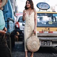 The Fashion Lift: The Perfect Strappy Summer Dresses Style Outfits, Summer Outfits, Cute Outfits, Summer Day Dresses, Strappy Summer Dresses, Look Fashion, Womens Fashion, White Fashion, Fashion Design
