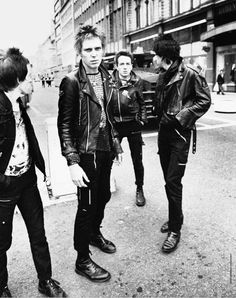The Clash by Adrian Boot, Belfast 1977